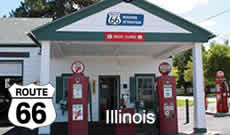 Route 66 Road Trips in Illinois