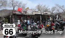 Route 66 Road Trip by Motorcycle