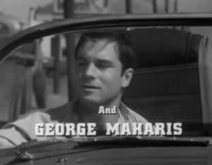 "George Maharis on the TV show ""Route 66"""
