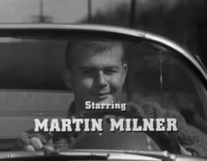 "Martin Milner on the TV show ""Route 66"""