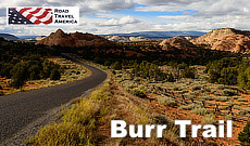 The Burr Trail from Boulder to Lake Powell in southern Utah