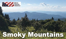Great road trips all throughout the Great Smoky Mountains National Park